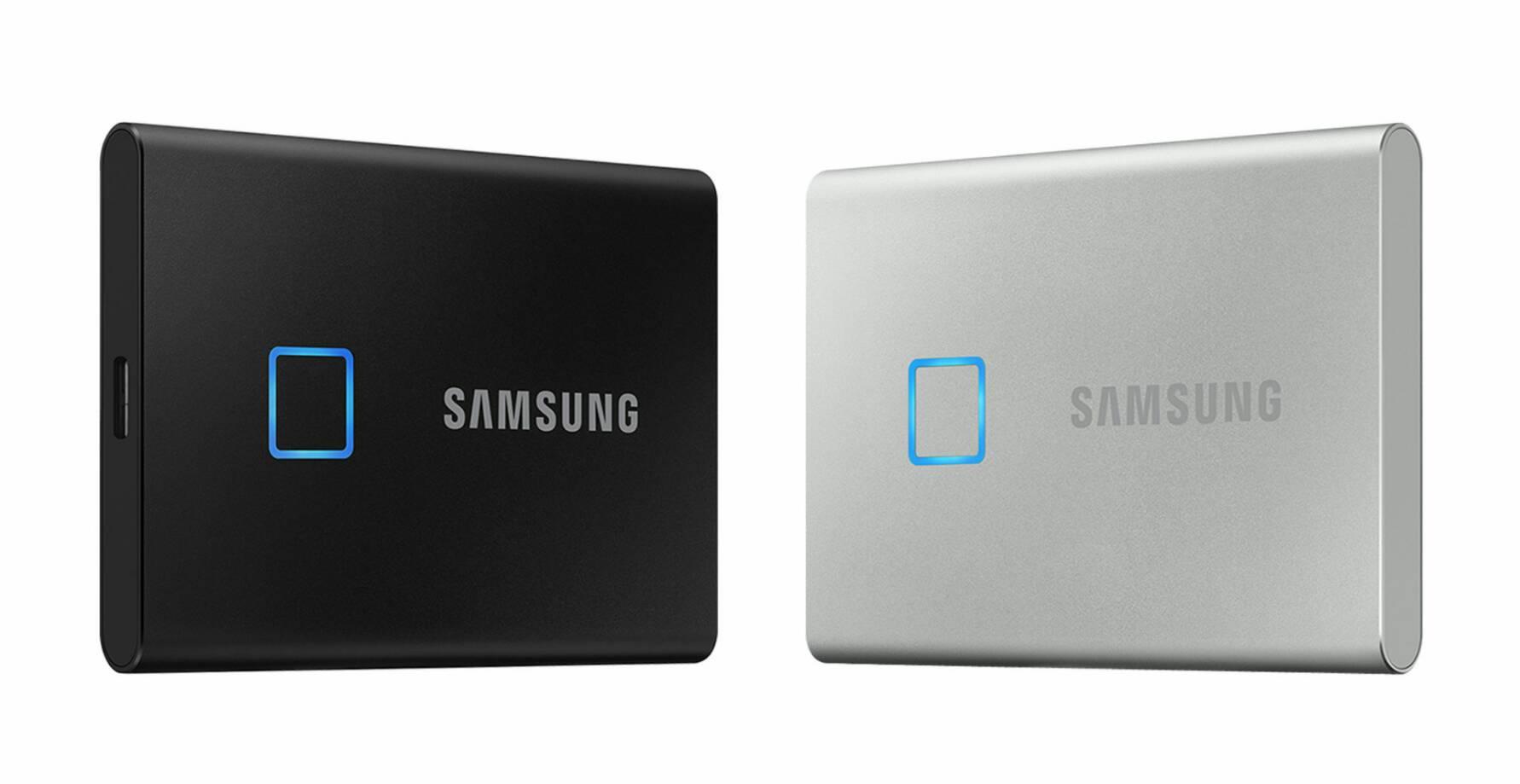 """โครตล้ำ! """"Samsung เปิดตัว T7 Touch SSD พกพารุ่นใหม่ ไฉไลด้วยการปกป้องข้อมูลด้วยลายนิ้วมือ gadgetมาใหม่ อัพเดทเทคโนโลยี ข่าวไอที อัพเดทโลกไซเบอร์"""